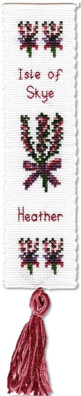 Scottish Heather - Bookmark Cross Stitch Kit